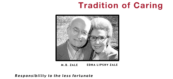 Photo of M.B and Edna Zale